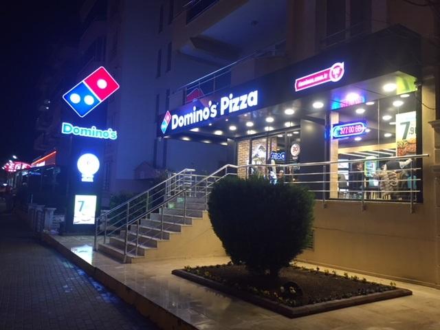 Denizli Albayrak Dominos Pizza Açıldı Dominos Pizza Türkiye